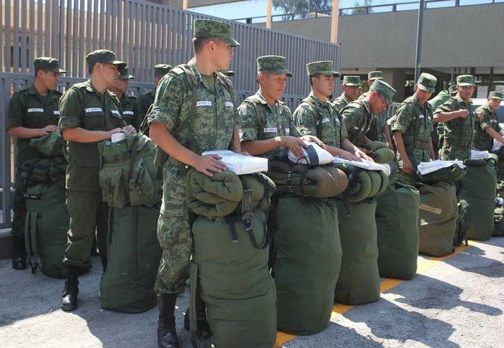 El Ejército requiere hombre y mujeres con deseos de superación y un firme proyecto de vida; así como una decidida inclinación al estudio y la superación personal. (ww.sedena.gob.mx)