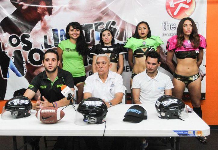 Rangers de Mérida jugarán este sábado a las 20:00 horas ante Pioneras de Cancún en el inicio de la Liga de Futbol Americano Femenil. (Fotos: Amílcar Rodríguez/Milenio Novedades)