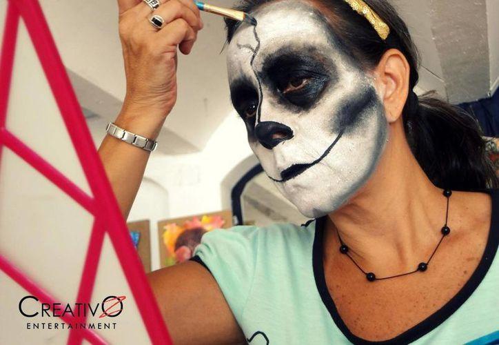 """El grupo """"CreativOz Entertainment"""" ofrece el curso de dibujo y maquillaje artístico, que inicia el 28 de julio. (Cortesía/CreativOz Entertainment)"""