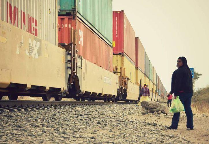 Los puntos más peligrosos para los voluntarios de la Estancia del Migrante se encuentran en las vías del tren. (facebook.com/Estancia-del-Migrante-González-y-Martínez-AC)