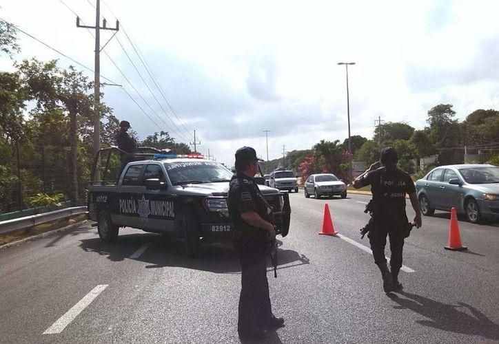 Un sospechoso de secuestro fue arrestado ayer durante un operativo policial en Playa del Carmen. (Redacción/SIPSE)