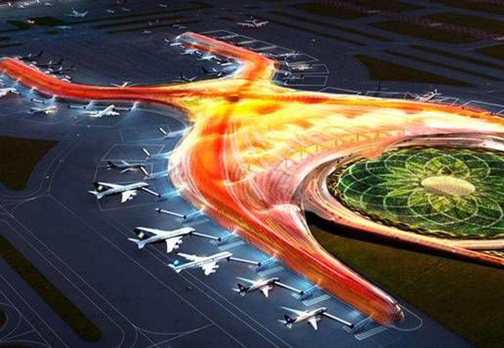 El megaproyecto del Nuevo Aeropuerto de la Ciudad de México carece de una consciencia a ser adaptable a futuros requerimientos, lo que podría constar la creación de un nuevo edificio en un tiempo no muy largo. Esto en consideración de expertos en proyectos aeroportuarios. (Imágenes de aeropuerto.gob)