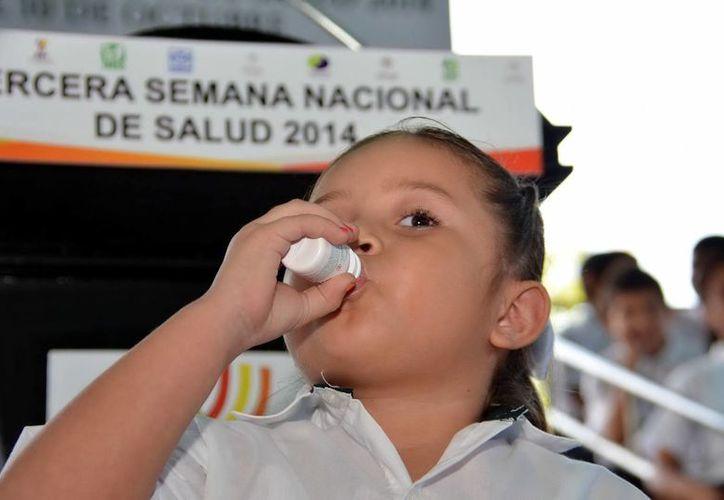 Gracias a las jornadas de vacunación México está libre de la poliomielitis. (Milenio Novedades)