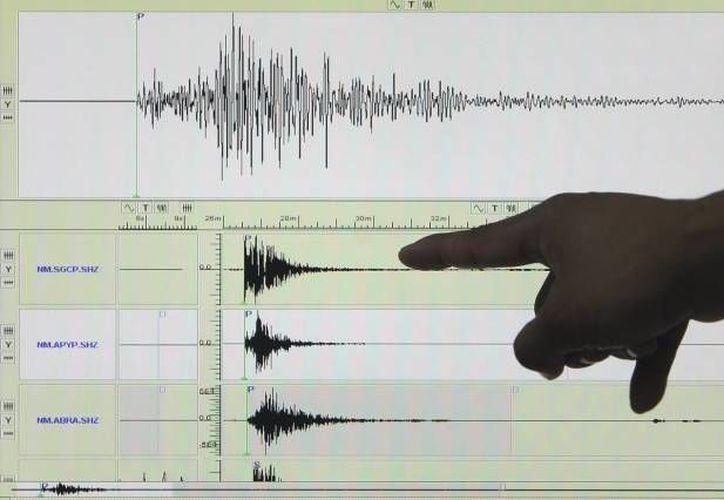 El epicentro del sismo, con magnitud 6.0, se reportó al sur de Pinotepa Nacional, Oaxaca. (Agencias/Archivo)