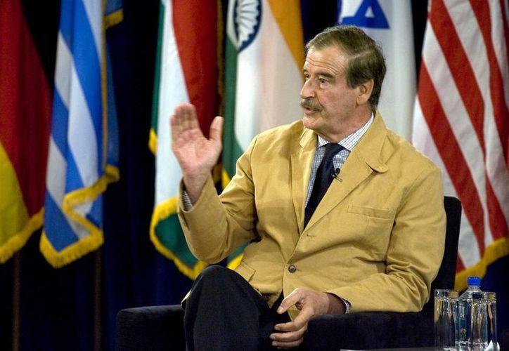 Fox celebró las reformas que impulsa Enrique Peña Nieto: 'puso fin a un monopolio', dijo. (EFE/Archivo)