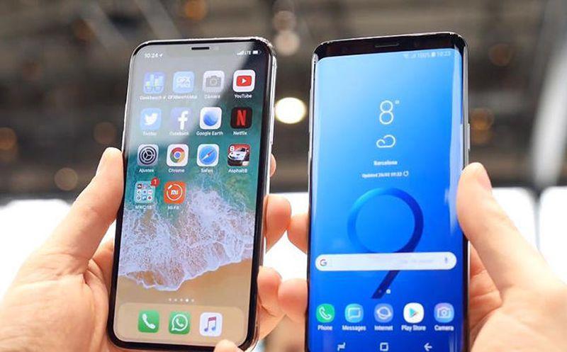 Autonomía del Galaxy S9 apenas mejora al Galaxy S8