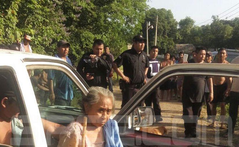 La señora de 80 añitos pasó una noche completa, internada en el monte.  Su familia, vecinos y policías  realizaron dos búsquedas hasta dar con ella. (SIPSE)