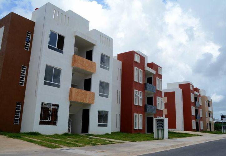 El 97% de los créditos fueron para la compra de vivienda nueva. (Victoria González/SIPSE)