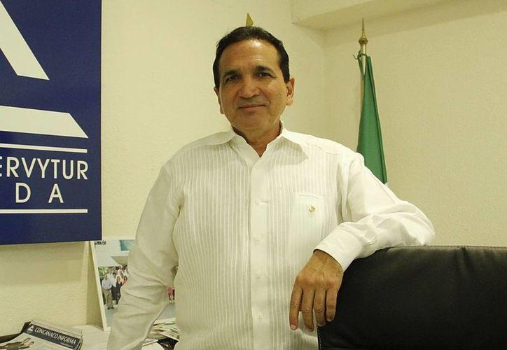El presidente de la Canaco Mérida, José Manuel López Campos. (Milenio Novedades)