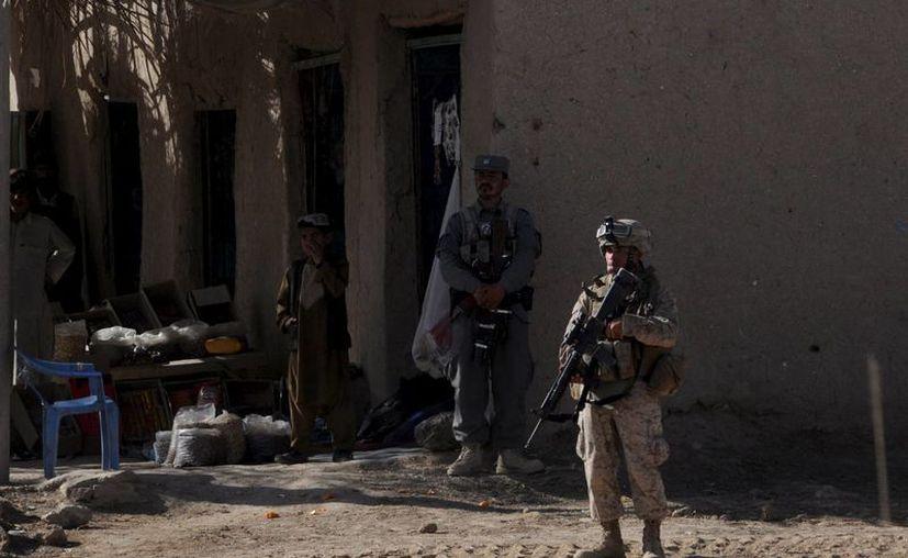 Estados Unidos invadió Afganistán tras los ataques terroristas del 11 de septiembre en Nueva York, donde resultaron muertas más de tres mil personas. (EFE)