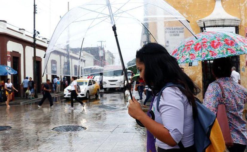 Este miércoles hay probabilidad para tormentas fuertes a muy fuertes al oriente, norte y centro de Yucatán. (Novedades Yucatán)