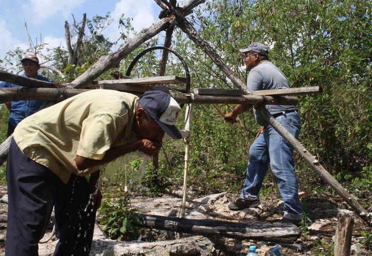 Durante los últimos meses han padecido chikungunya poniendo en riesgo su salud por el difícil acceso. (Daniel Pacheco/SIPSE)