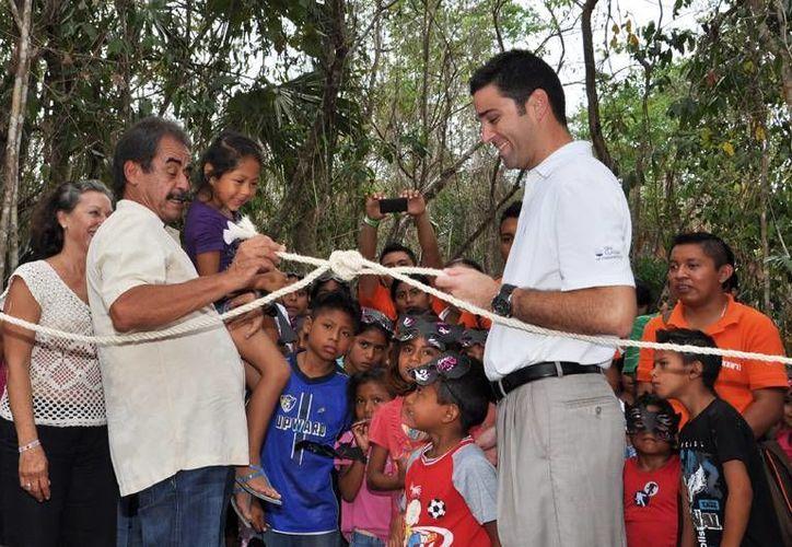 La inauguración de la huerta dedicada a la horticultura se llevó a cabo el pasado 30 de abril. (Adrián Barreto/SIPSE)