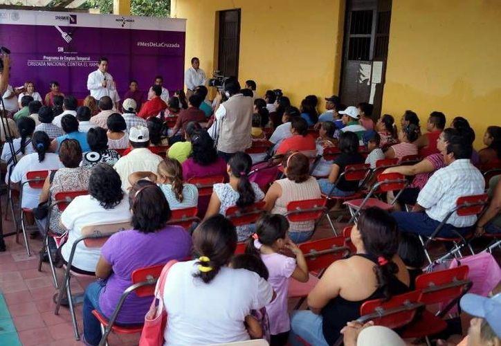 La Sedesol estatal anunció beneficios económicos y sociales para las 47 comisarías de Mérida. (Milenio Novedades)