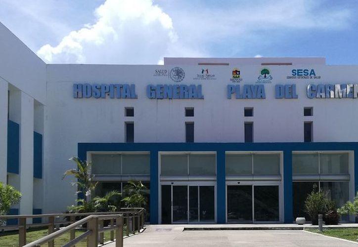 A pesar de estar saturado el Hospital General de Playa del Carmen, integrantes aseguran no haber rechazado a ningún paciente. (SIPSE)