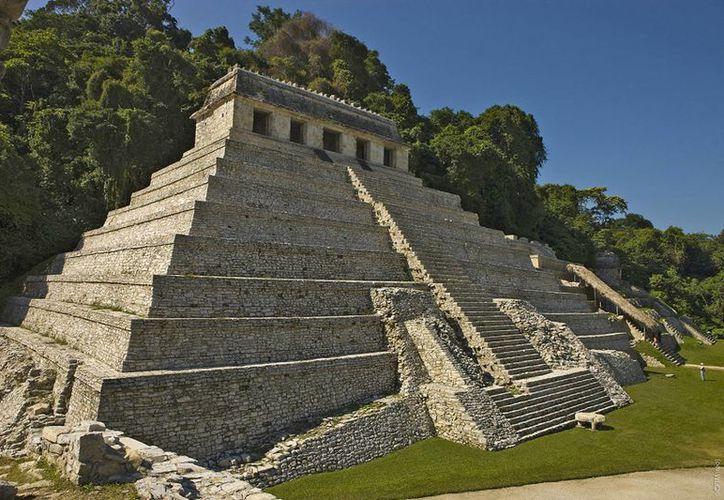 Palenque, con su zona arqueológica, es considerada la gran puerta al turismo internacional cultural al estado de Chiapas. (Archivo/Notimex)