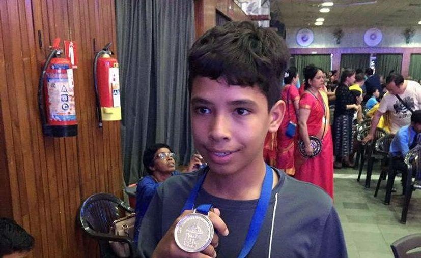 Jacobo de Juan Millón ganó la presea de plata en la competencia. (Foto: Milenio Novedades)
