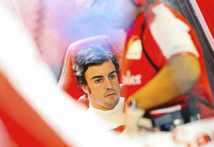 El piloto español de la escudería Ferrari de Fórmula Uno, Fernando Alonso, se dice listo para el Gran Premio de EU. (EFE/Archivo)