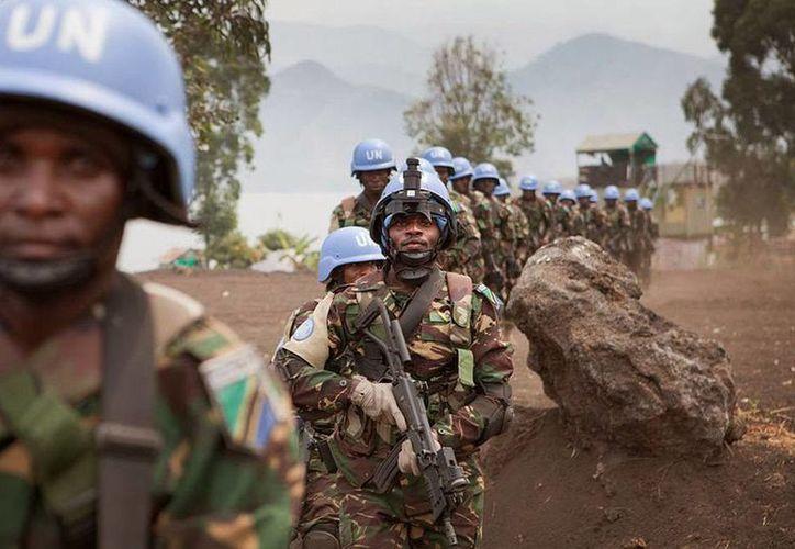 Un equipo de la misión de paz se trasladó al lugar donde se repotó la muerte de 70 personas. En la zona se mantienen activos varios grupos rebeldes. (Archivo/elmercuriodigital.net)