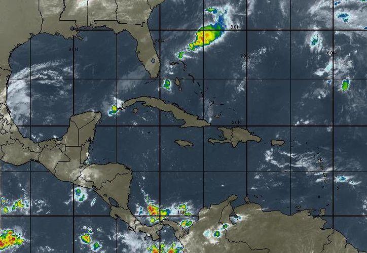 Sobre el Caribe no evoluciona ningún sistema de naturaleza ciclónica. (Redacción/SIPSE)