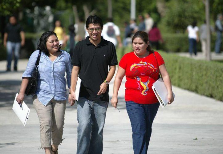 Jóvenes universitarios se preparan para incursionar en el nuevo Sistema de Justicia Penal. (Sergio Orozco/SIPSE)