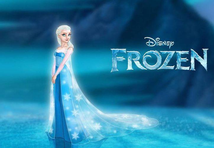 La cinta 'Frozen' se mantiene en primer lugar en ingresos en taquilla en Estados Unidos. (Internet)