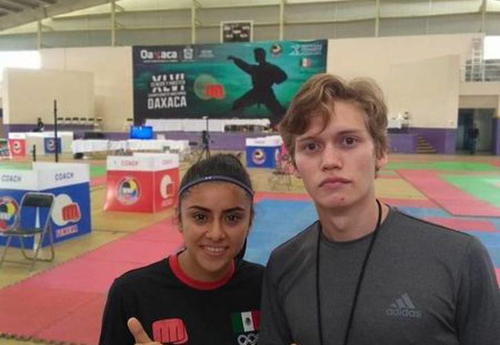Michelle Navarro Andrade y Alejandro Alpuche Monsreal. (Foto: Milenio Novedades)