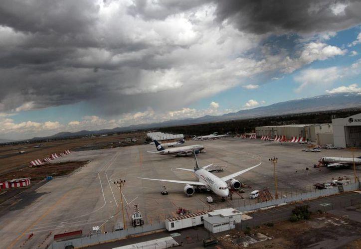 Las aerolíneas nacionales y extranjeras ya tienen su espacio designado en el Nuevo Aeropuerto Internacional de la Ciudad de México. (Imagen contexto/ Notimex)