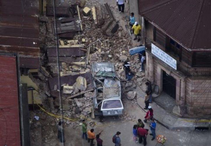 Cuando se tenga el informe de los daños se diseñará la estrategia para la reconstrucción del país.