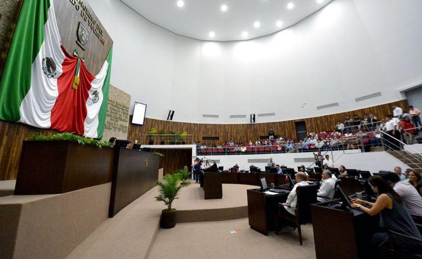 Los diputados locales rechazaron la solicitud de Miguel Candila Noh. (Milenio Novedades)