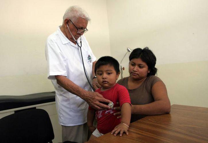 Las consultas por males respiratorios aumentaron en julio pasado. (Milenio Novedades)