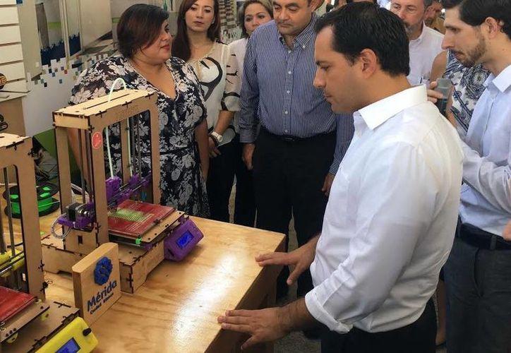 El Alcalde de Mérida abrió la convocatoria para proyectos emprendedores. (Milenio Novedades)