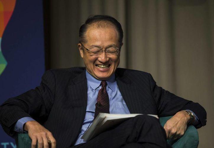 """""""La visión de los mercados de México es muy diferente de lo que era hace unos años"""", dijo el presidente del Banco Mundial (BM), Jim Yong Kim. (EFE/Archivo)"""