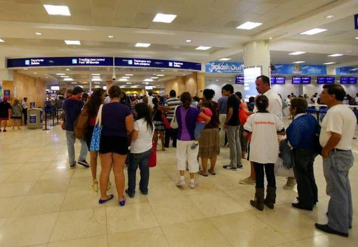 La terminal con mayor número de pasajeros del Grupo en diciembre fue Cancún. (Redacción/SIPSE)