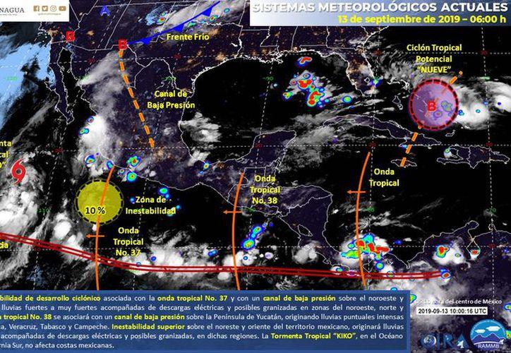 (Servicio Meteorológico Nacional)