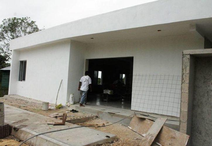Se construyeron albergues con un millón 498 mil pesos y otro con un millón 750 mil pesos. (Edgardo Rodríguez/SIPSE)