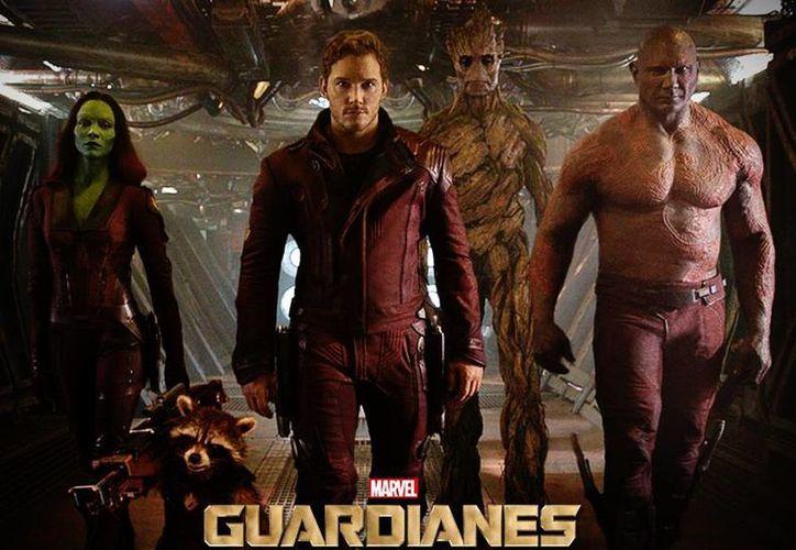 En su primer fin de semana en México, Guardianes de la Galaxia fue vista por un millón 568 mil 430 espectadores. (Facebook/Marvel Latinoamérica)