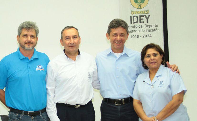 En el homenaje participarán ex presidentes de la liga. (Jorge Acosta/Novedades Yucatán)