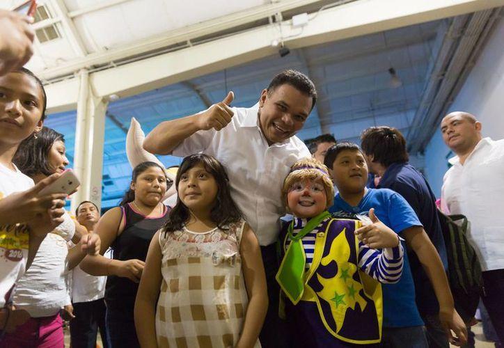 Rolando Zapata Bello destacó la inscripción de 40 mil niños a Escuela de verano. Bienestar en vacaciones'. (Cortesía)