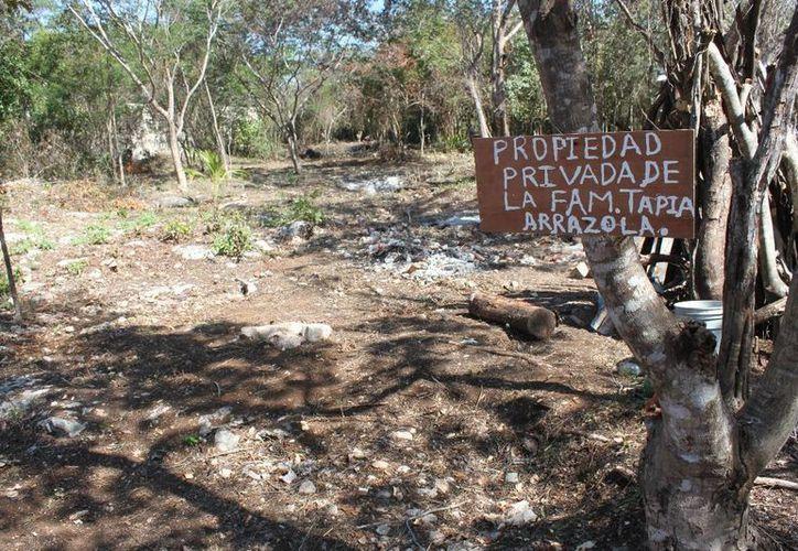 Santa Mónica se suma a colonias irregulares del poniente de Playa del Carmen. (Adrián Barreto/SIPSE)