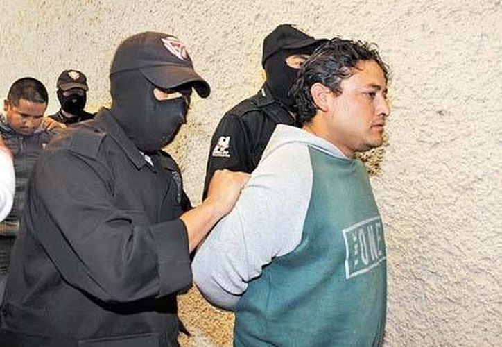 Los detenidos son Omar Gregorio Nieves Rebeles y Constantino Domínguez Torres. (Milenio)