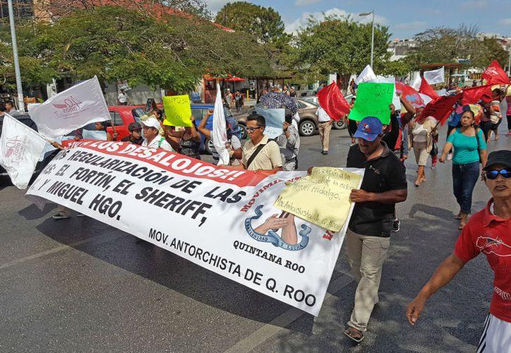 El valor avaluó de estos terrenos es de 170 mil pesos.  (Jesús Tijerina/ SIPSE)