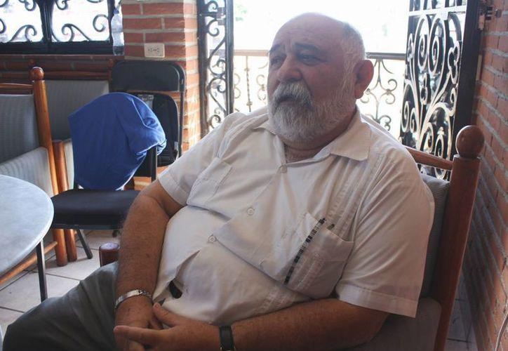 Juan Bautista Espinosa Palma, dijo que ocupó la presidencia del CDM del PAN el 16 de diciembre del año pasado. (Yenny Gaona/SIPSE)