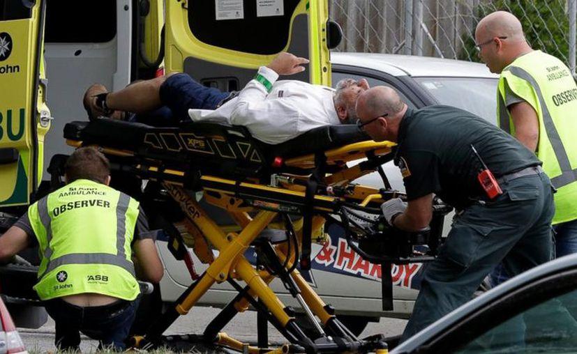 La Policía local de Nueva Zelanda atendió reportes de disparos cerca de una mezquita en la localidad de Christchurch. (AP)