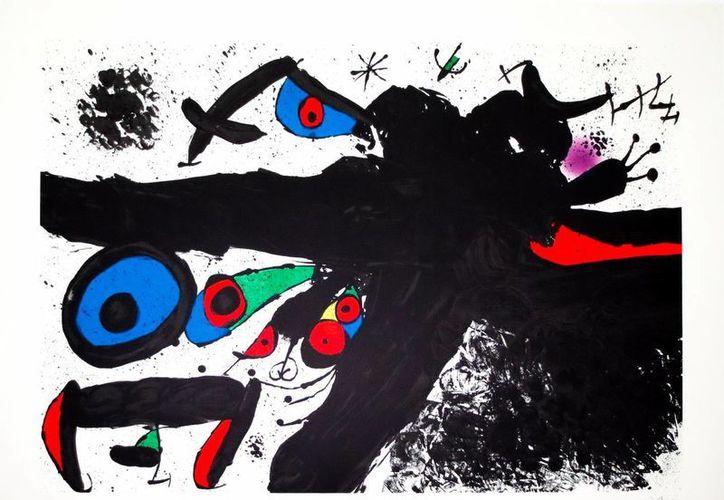 """Las salas 6 y 7 se engalanan con """"Los duendes de Miró"""". (Milenio Novedades)"""