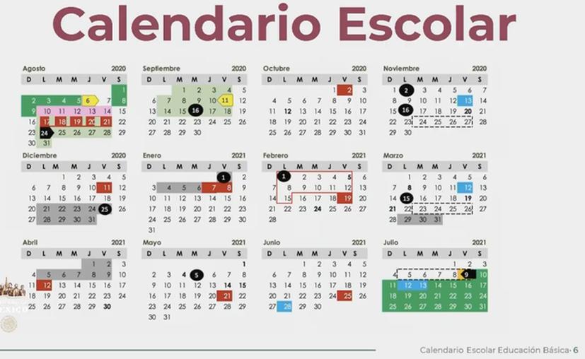 El titular de la Secretaría de Educación Pública (SEP), Esteban Moctezuma Barragán, presentó el calendario escolar para el ciclo 2020-2021. (Foto: Twitter).