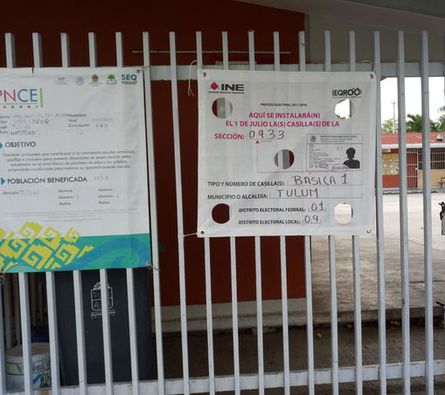 Se abrirán 62 urnas para votar en Tulum