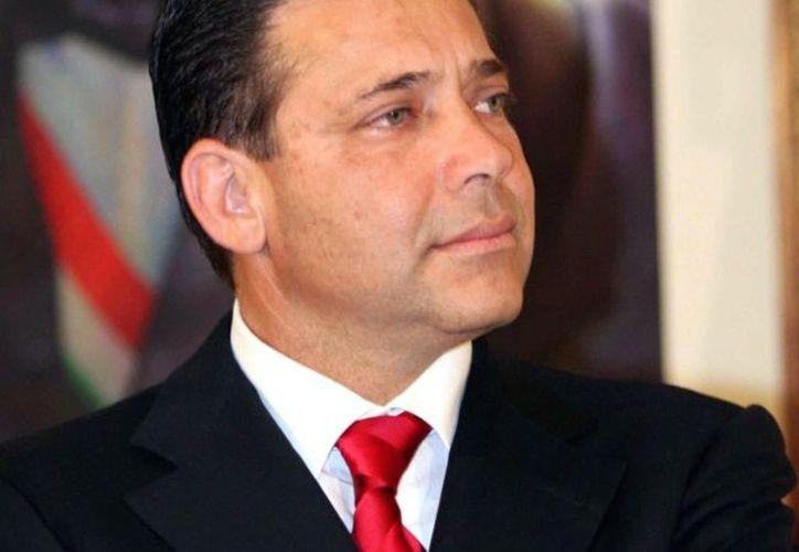 Fue detenido en Ciudad Victoria el ex gobernador de Tamaulipas, Eugenio Hernández Flores. (El mañana).