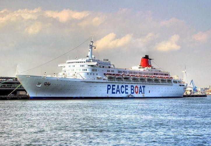 El Barco de la Paz, Hibakusha, podría visitar Cozumel durante octubre. (Redacción/SIPSE)