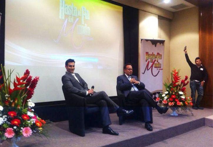 David Zepeda fue presentado como el nuevo protagonista de Hasta El Fin del Mundo. (Tvnovelas.com)